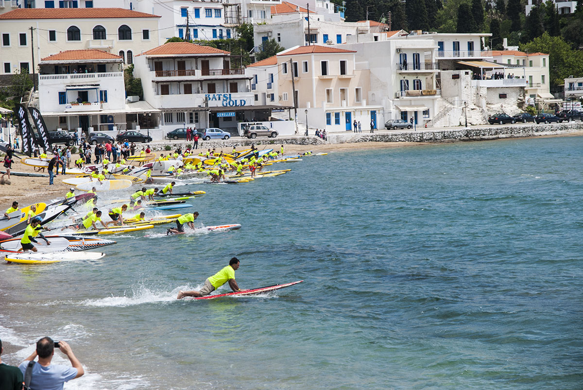 Hellenic Sup Cup 2015 Andros race